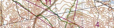 Long distance orienteering